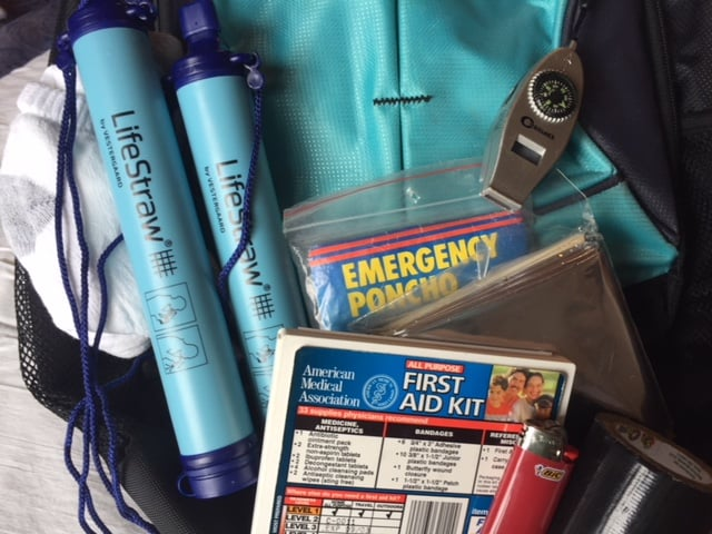 What to carry in your backpack when hiking in a National Park
