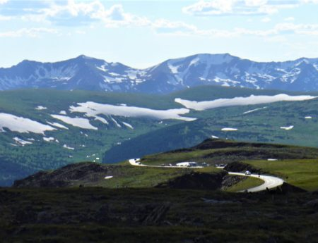 Trail Ridge Road in Rocky Mountain National Park is One of the Most Scenic Drives in the Country