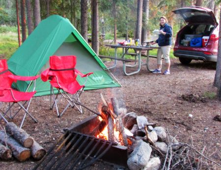Don't Miss These 4 Drive In Rustic Campgrounds in Glacier National Park