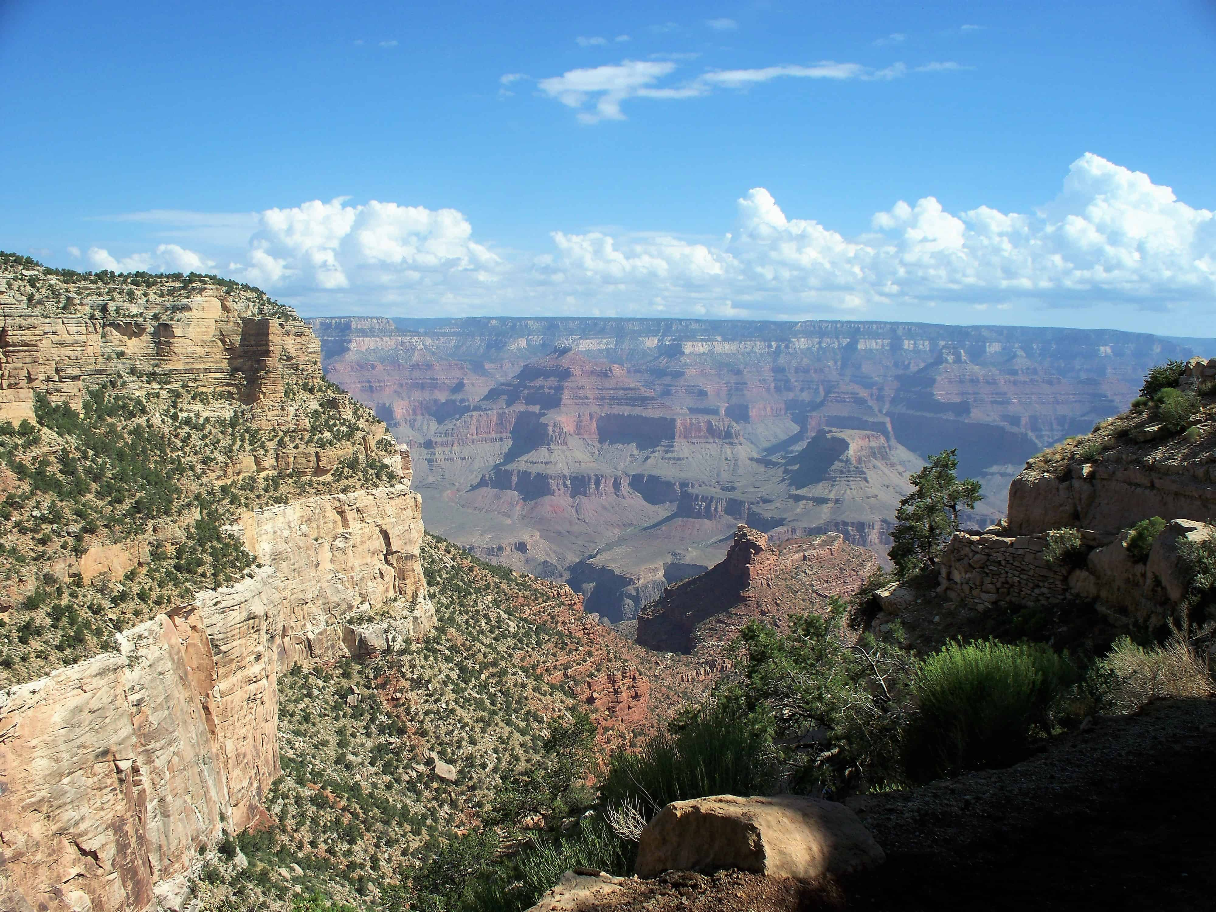 Grand Canyon View from Rim Trail