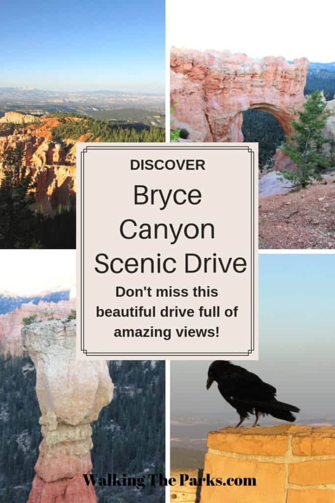 Guide to Bryce Canyon Scenic Drive, amazing views of Bryce Canyon National Park #WalkingTheParks #BryceCanyonScenicDrive