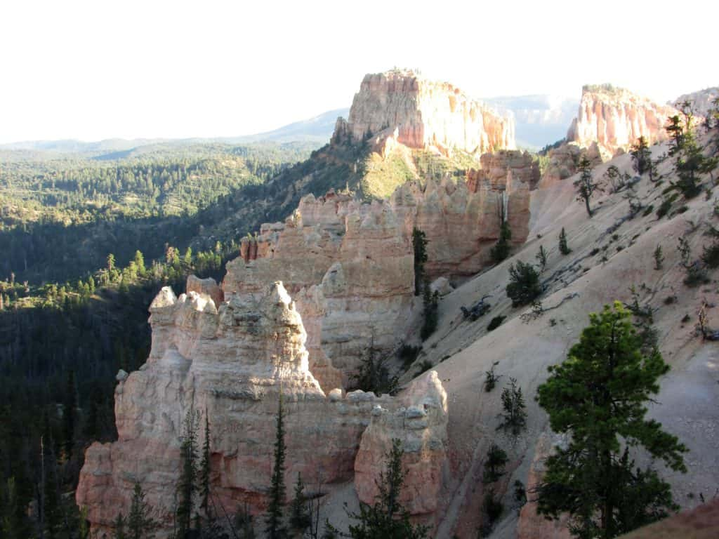 Bryce Canyon Rainbow Point on the Bryce Scenic Drive #WalkingTheParks #ScenicDrive