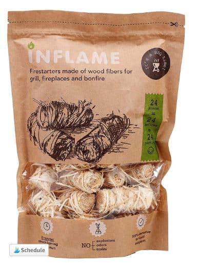 Brown Package of Fire Starters