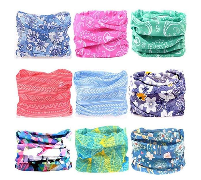 Assorted Colors of Headbands
