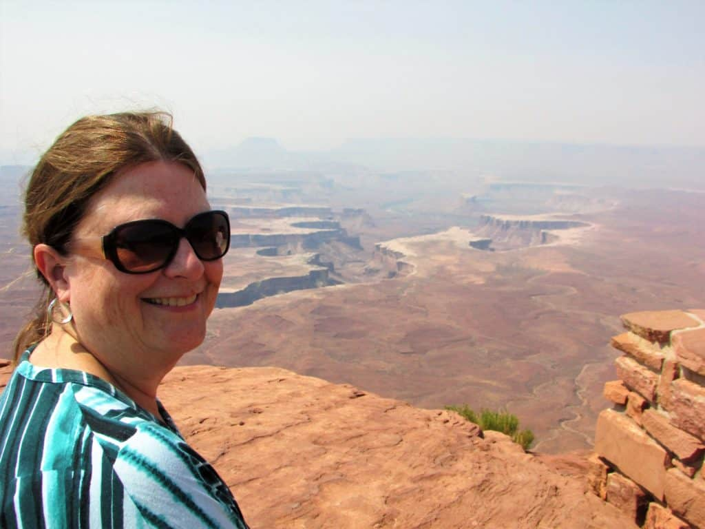 Green River Overlook at Canyonlands National Park Island In the Sky