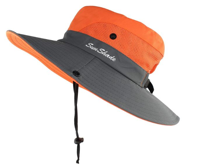 Bright Orange Sun Hat