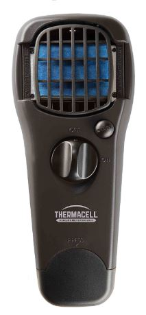 Black thermacell Portable mosquito repeller