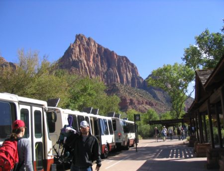 Zion Canyon Shuttle Makes it Easy to Enjoy Zion National Park