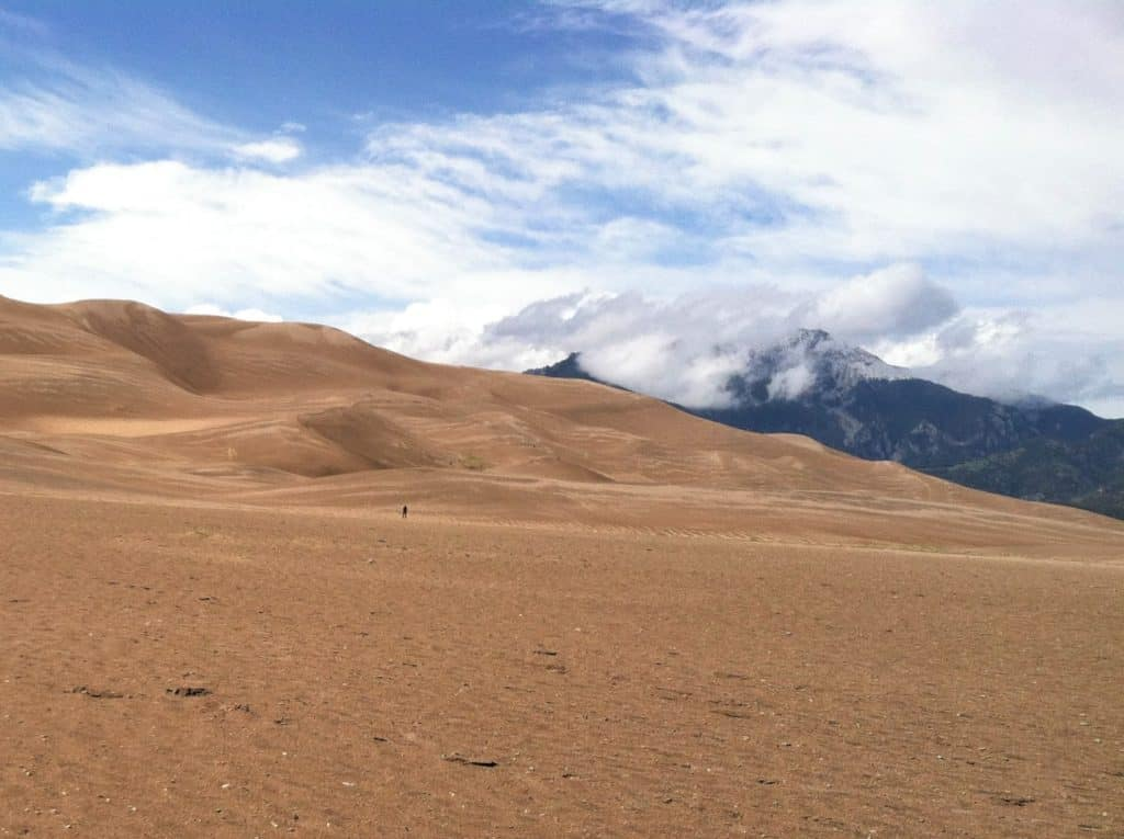 Great Sand Dunes National Park on the Colorado National Park Road Trip