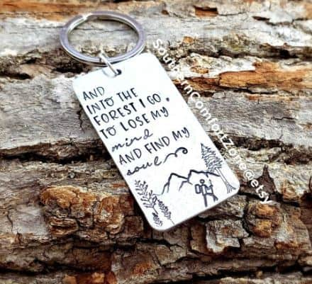 Personalized Key chain from Etsy