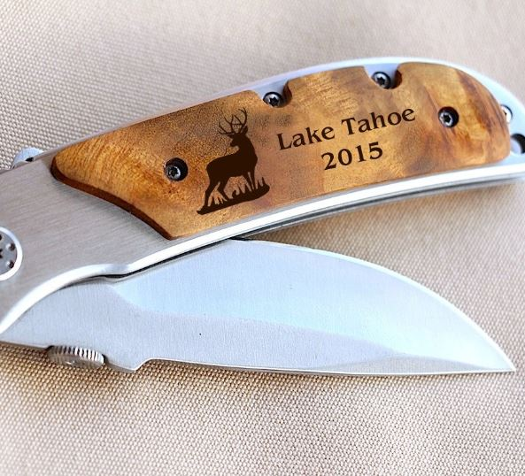 Pocket knife from Etsy