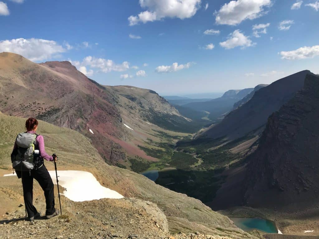 Siyeh Pass Glacier National Park best hikes #WalkingTheParks #HikingGlacierNationalPark