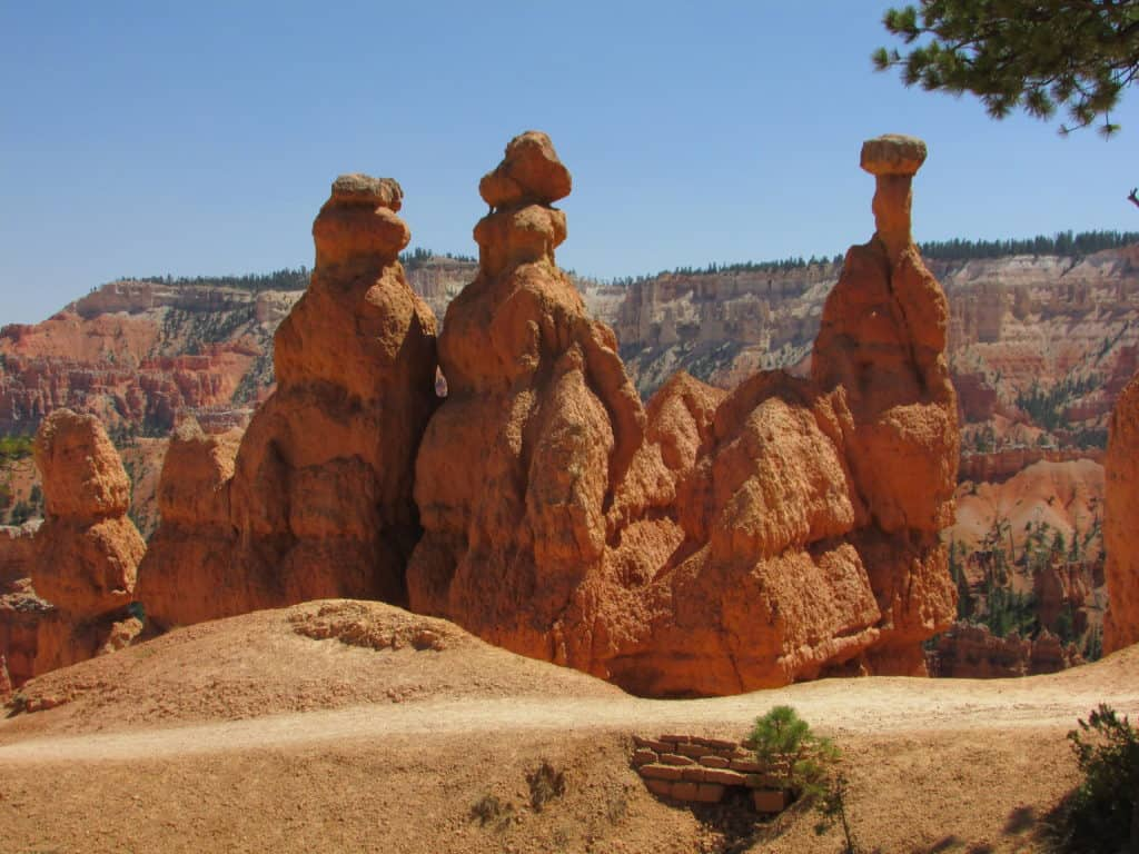 Hiking in Bryce Canyon Amphitheater