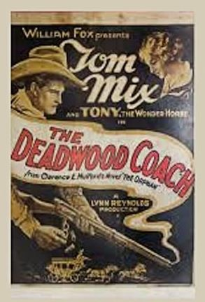 The Deadwood Coach Movie Poster - Bryce Canyon