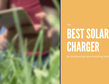 Finding the Best Solar Charger for Backpacking