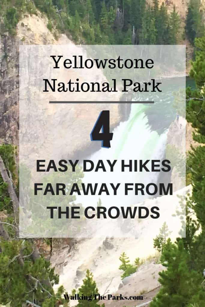 Yellowstone National Park easy day hikes #WalkingTheParks