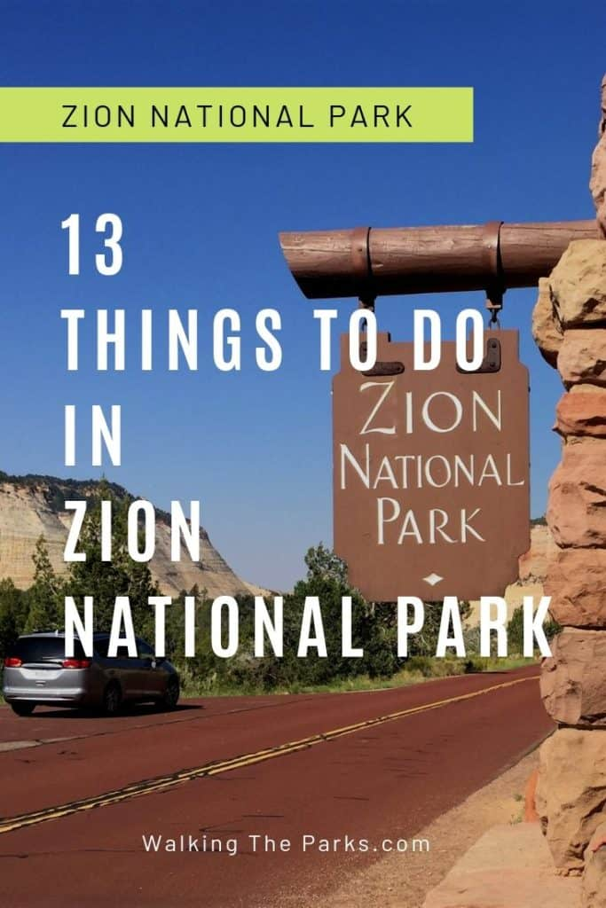 Things to Do in Zion National Park. Create the Zion itinerary of your dreams with this list of really cool things to do. Read on to discover more! #walkingtheparks #ZionNationalParkItinerary
