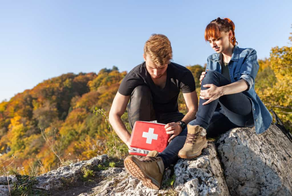 First Aid Kit is what to pack for a day hike