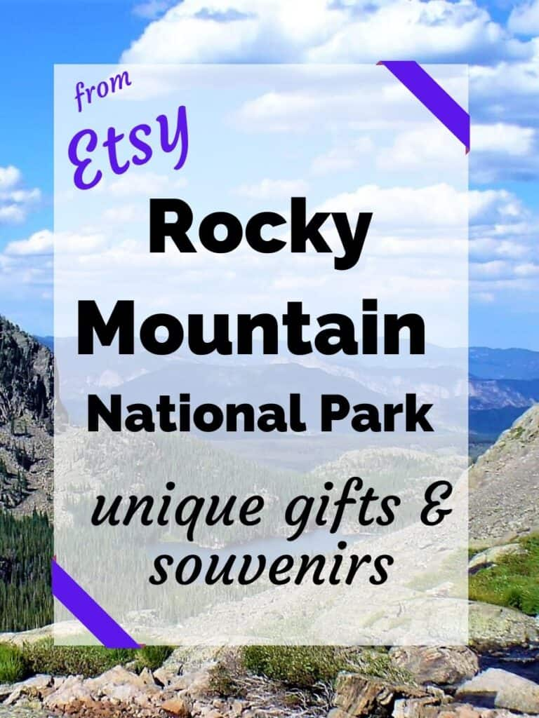 Find the Rocky Mountain National Park gifts and souvenirs from Etsy. Check out this list for unique Rocky Mountain gifts. #walkingtheparks