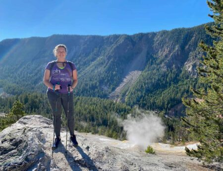 "Hiking 7 Mile Hole: Discover ""Everything"" Yellowstone on One Trail"