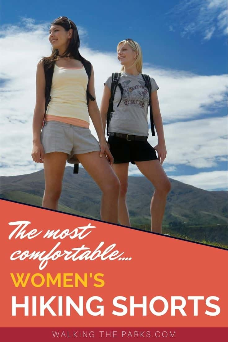 Guide to women's hiking shorts that will keep you cool and comfortable on the hiking trail.