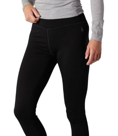 Smartwool long underwear for women in black