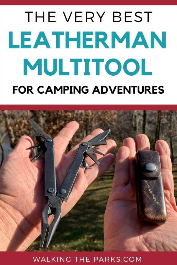 The best leatherman multitool held in hands, compare the choices. #WalkingTheParks